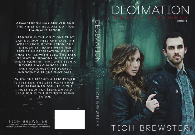 Decimation paperback wrap